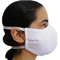 1, 3, 6 o 12 pzs Mascara Cubrebocas Tela Algodon 4 capas Reforzado Lavable Reutilizable Adulto Infantil