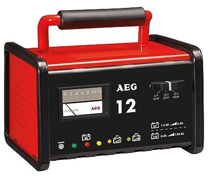 AEG Automotive 97009 Cargador de Taller WM 12 A para Baterías de 6 ...