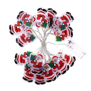 Amazon.com: Luces de Navidad para fiesta, decoración del ...