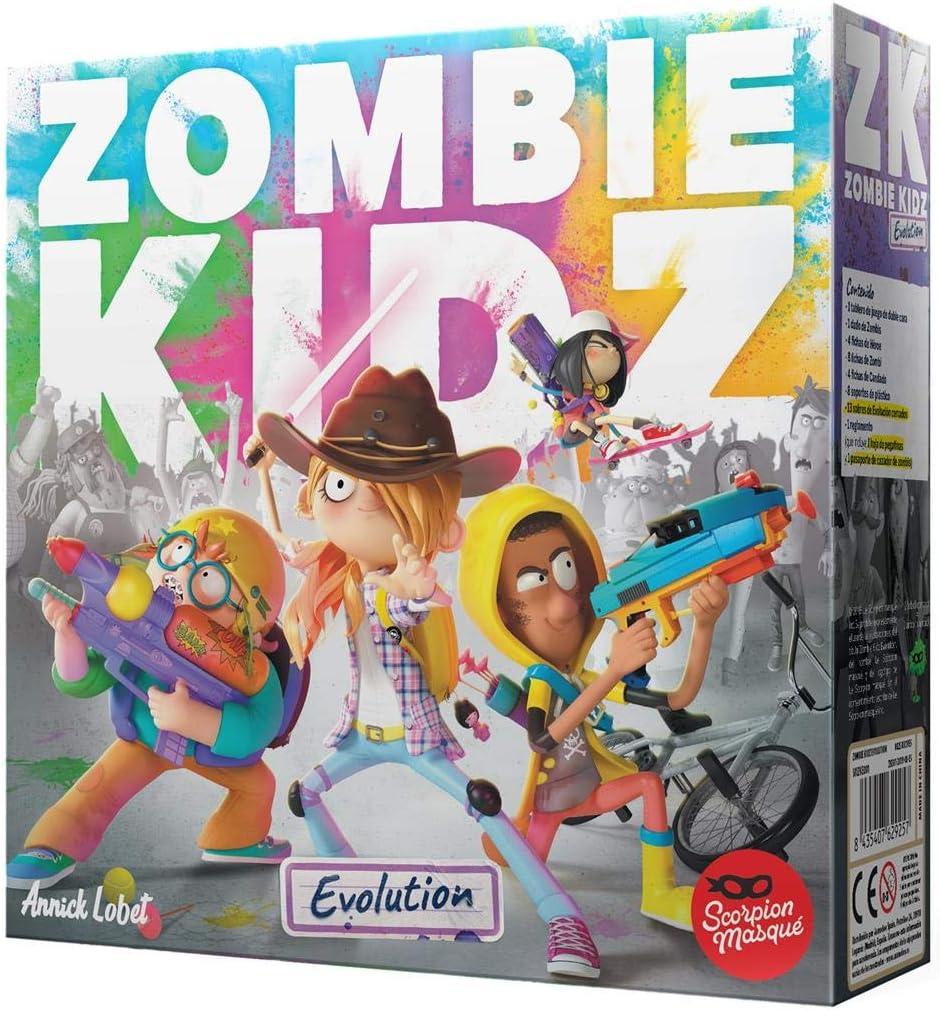 Scorpion Masqué- Zombie Kidz Evolution - Juego de Mesa - Español, Multicolor, Talla Única (SMZKE001): Amazon.es: Juguetes y juegos