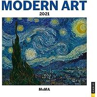 Modern Art 2021 Wall Calendar