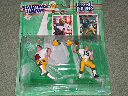 Amazon.com  1997 NFL Starting Lineup Classic Doubles - Brett Favre ... 4903e6af4