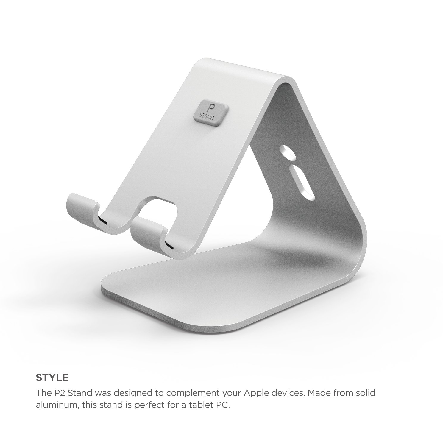 Elago P2 Stand for iPad and Tablet PC - Silver by elago (Image #3)