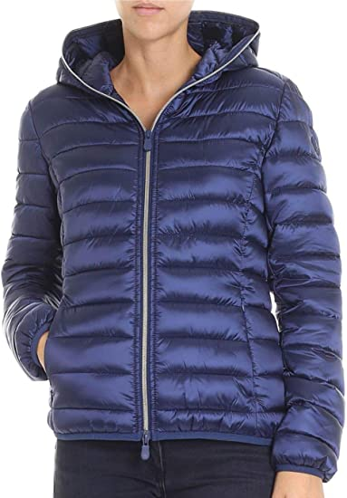 save the duck damen jacke blau