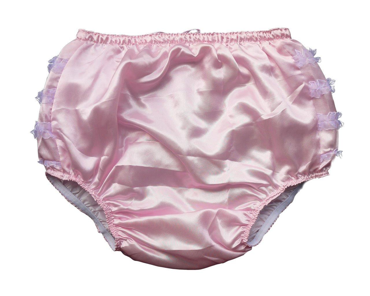 Frilly satin panties