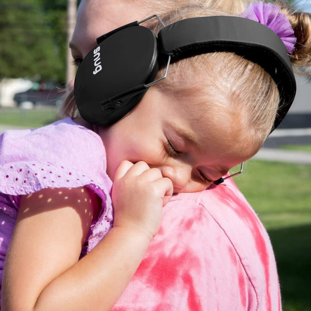 Yellow Snug Kids Earmuffs//Hearing Protectors Adjustable Headband Ear Defenders for Children and Adults