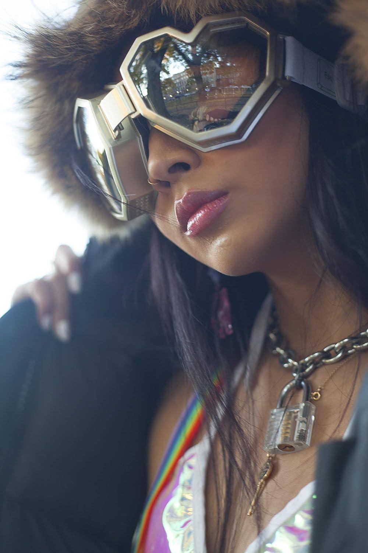 Esqape Heart-Shaped Ski Goggles /& Snowboard Goggles 100/% UV Protection Goggles for Men /& Women Cute Comfy