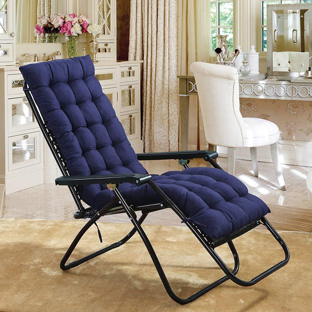 Sun Lounger Cushion Patio Garden Deckchair Recliner Lounge ...