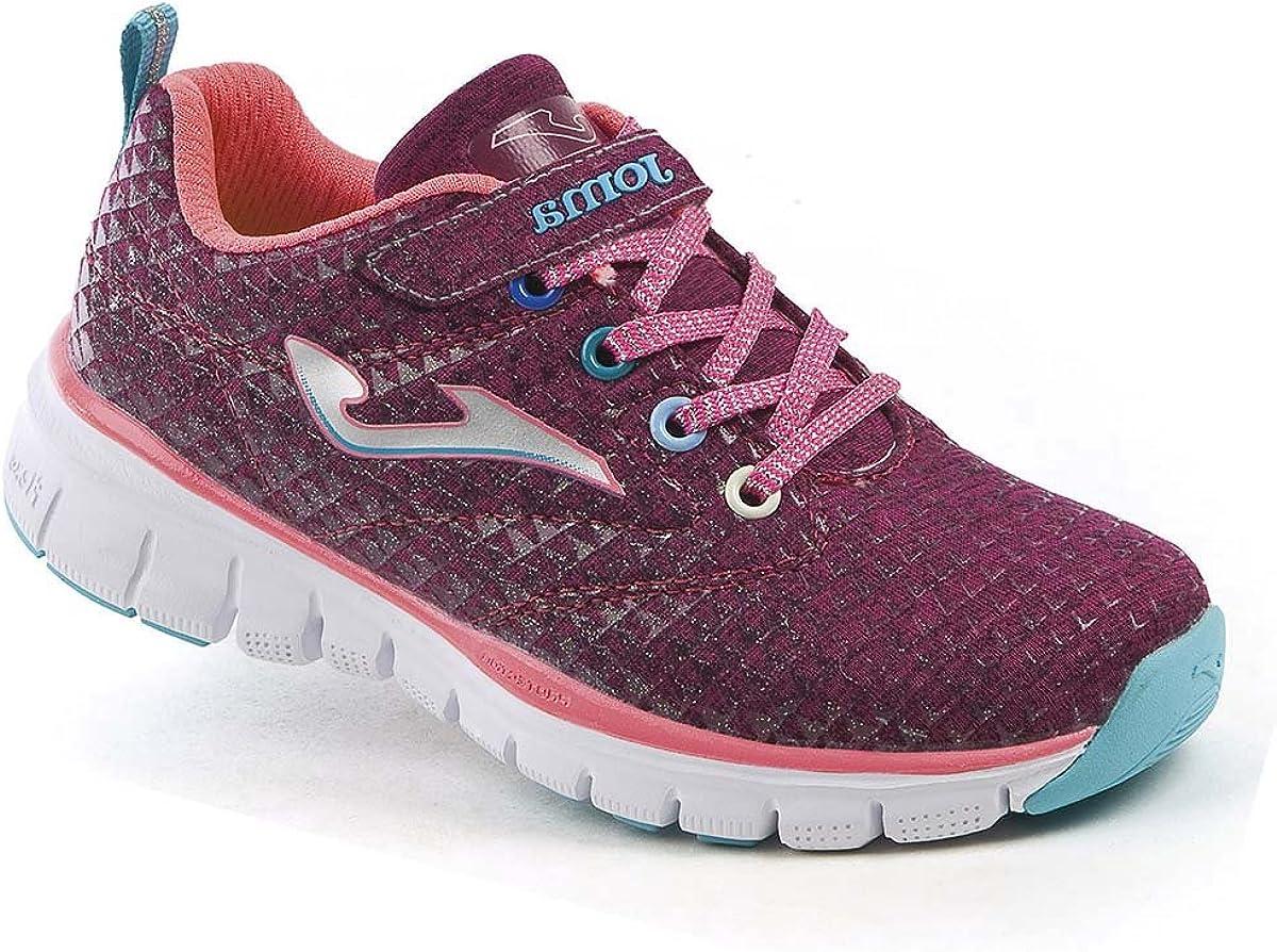 JOMA J.GALAS-719 Zapatilla Running Velcro NIÑA Morado 36: Amazon.es: Zapatos y complementos