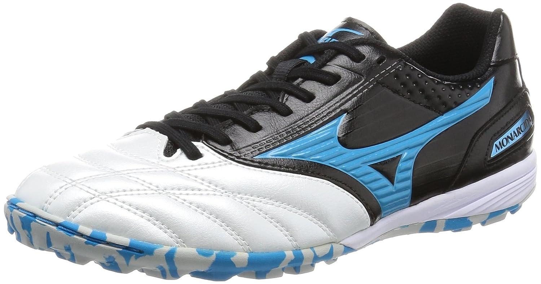 Zapatos DE FUTSAL FÚTBOL Mizuno monarcida TF Q1Gb1611 Negro Azul Us7.525.5Cm Nuevo