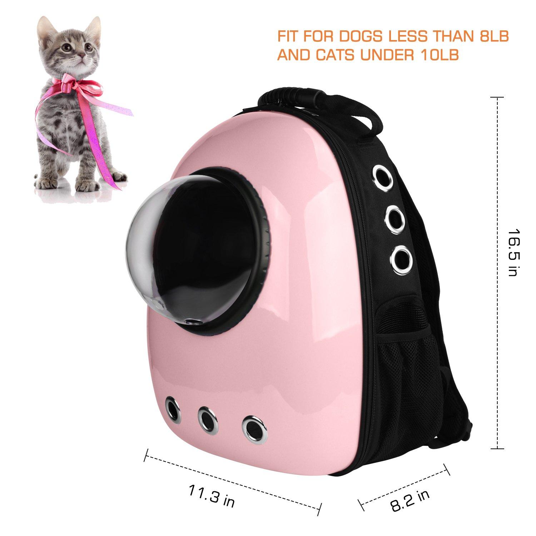 Amazon.com: Blitzwolf - Mochila portadora para mascotas con ...