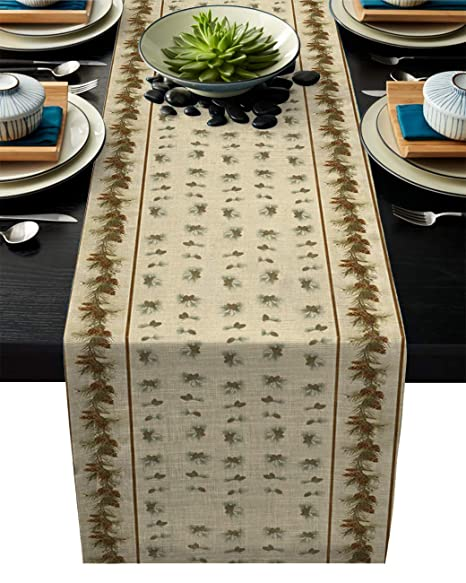 Image Tablecloth Camino de Mesa Verde Lizard Wall - Manteles ...