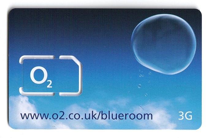 O2 UK - Tarjeta SIM en Red para iPhone 4 (diseño con Texto en ...