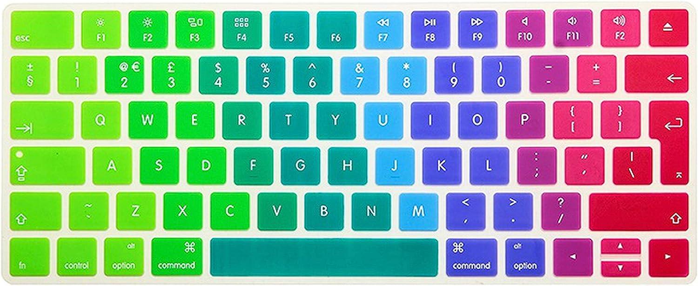 EU//UK Version Silicone Keyboard Cover Protector for New Magic Keyboard 2 Mla22B//A,Jbrainbow