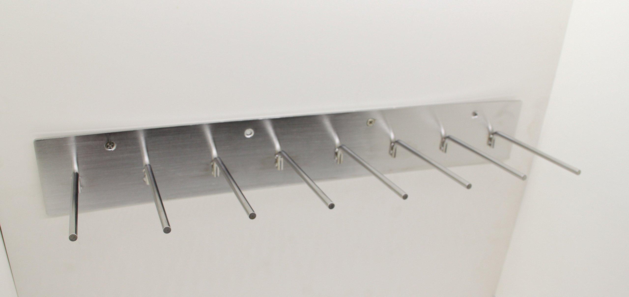 FixtureDisplays 8-PEG Lead Apron Wall-mount Hook Hanger 15687