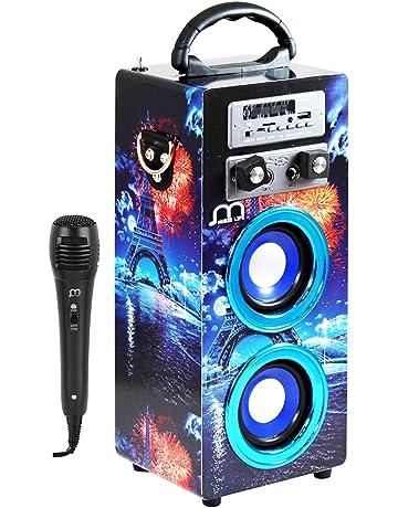 Amazon.es: Equipos de karaoke: Instrumentos musicales: Sistemas, Reproductores, Fundas y estuches y mucho más