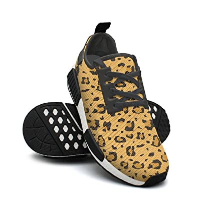 c5042293559d African Cheetah Leopard Fur Running Shoes Women Nmd Workout Gym Shoes