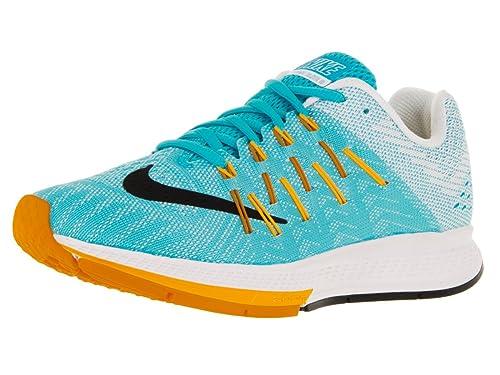473757bf55899 Nike Women s Air Zoom Elite 8 GMM Blue Black LSR Orange VVD Orng