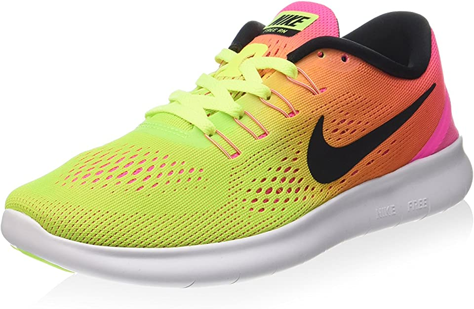 Todo tipo de Mecánica Señor  Amazon.com | Nike Women's Free RN Olympic Color Running Shoe | Running