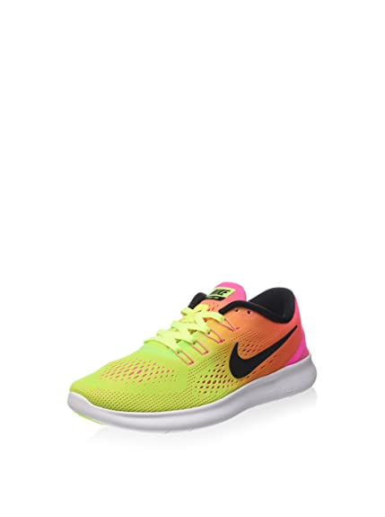 best authentic 04e59 ceacc Nike Women Free RN Olympic Color Running Shoe, Multi-Color 844630-999 (Size  8. 5) Amazon.in Shoes  Handbags