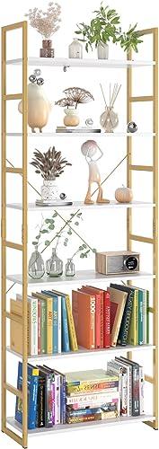 Homfa Industrial Bookcase 6-Tier