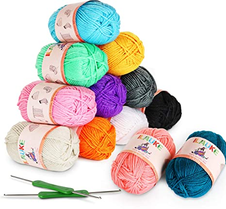 PACK OF 6 X  KNITTING AND CROCHET YARN NEW