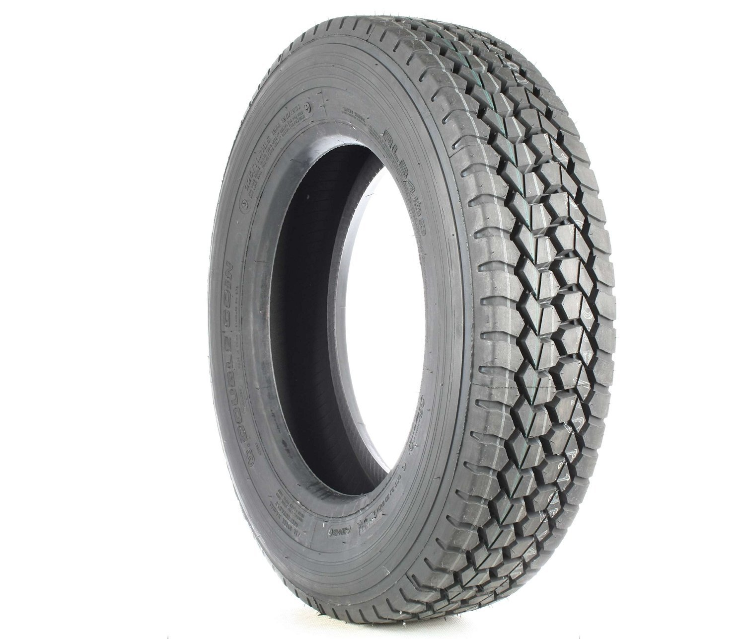 Double Coin RLB490 Low Profile Drive-Position Multi-Use Commercial Radial Truck Tire - 245/70R19.5 16 ply