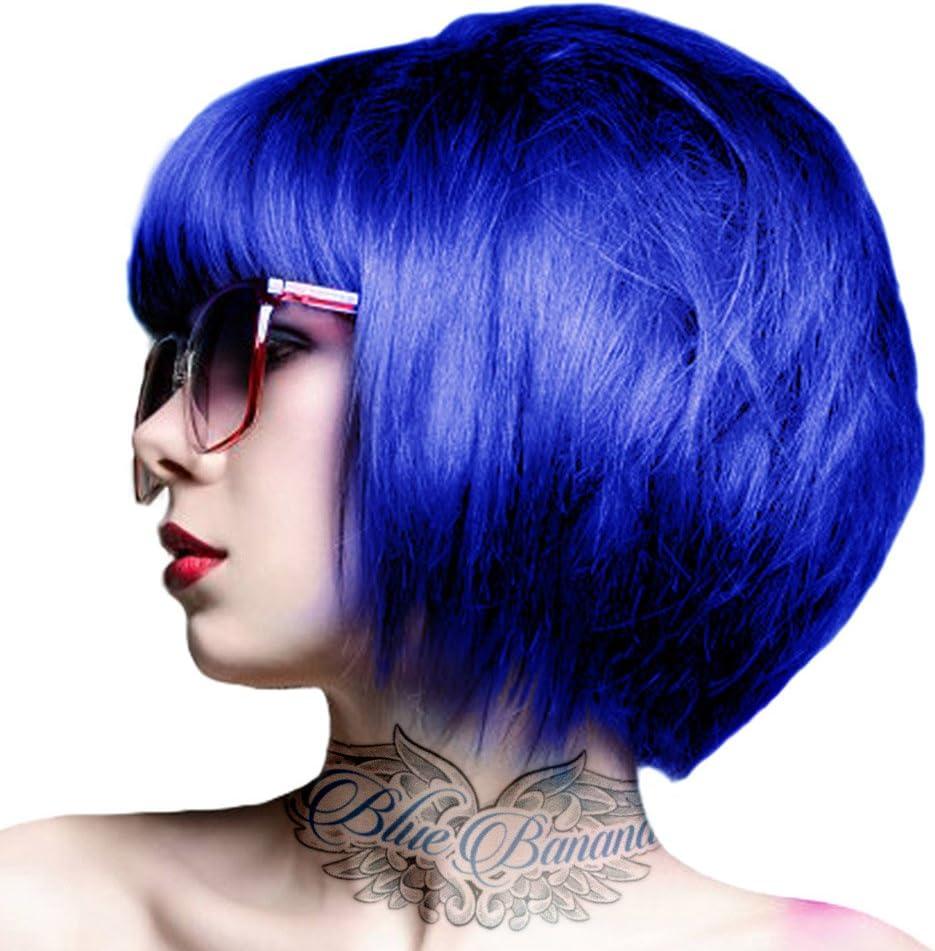 Tinte Capilar Semi-Permanente Crazy Color (Sky Blue) + GRATIS Estuche Blue Banana Sugar Skull