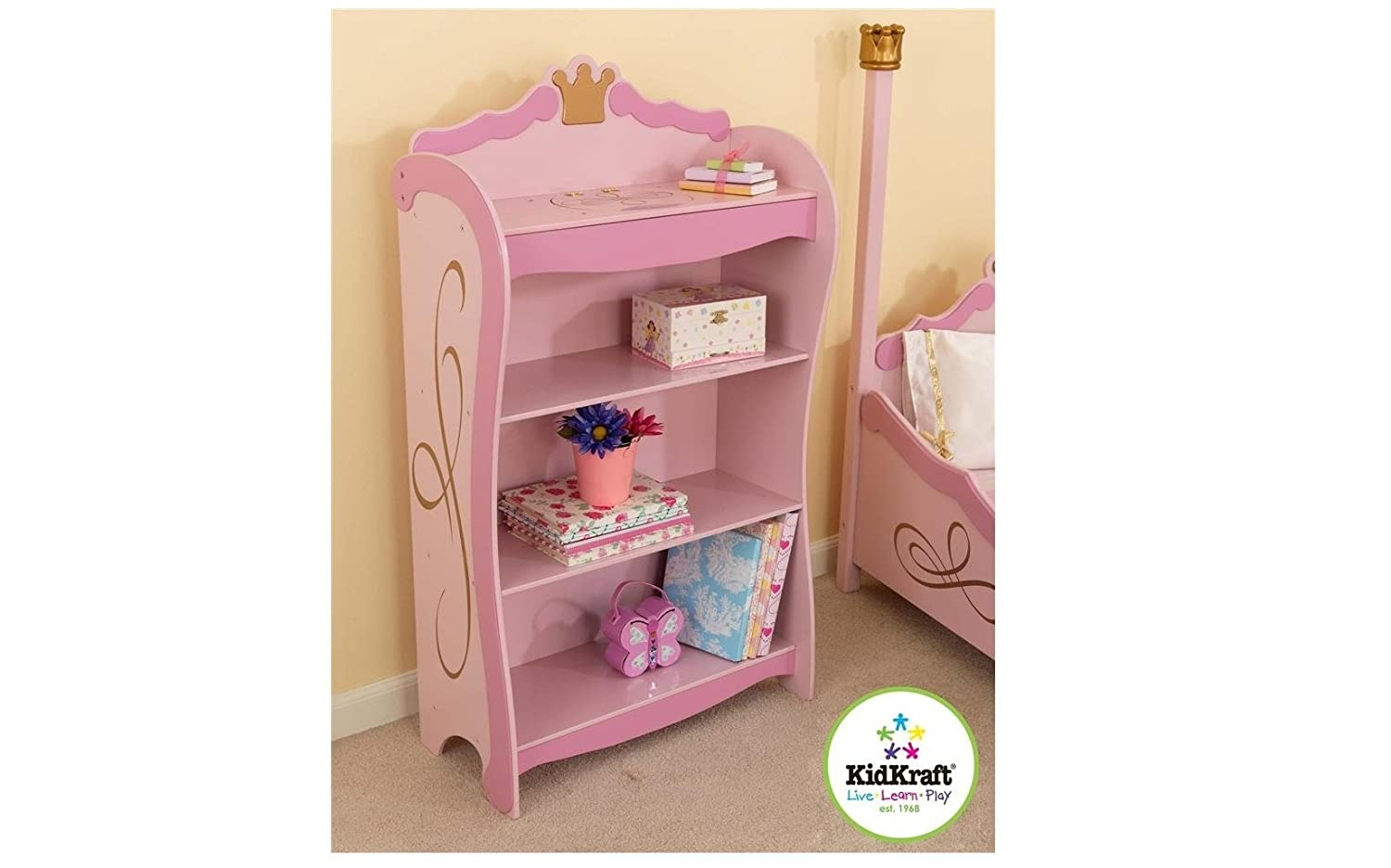 target size also of together princess bookcase bookshelf with argos full uk kidkraft