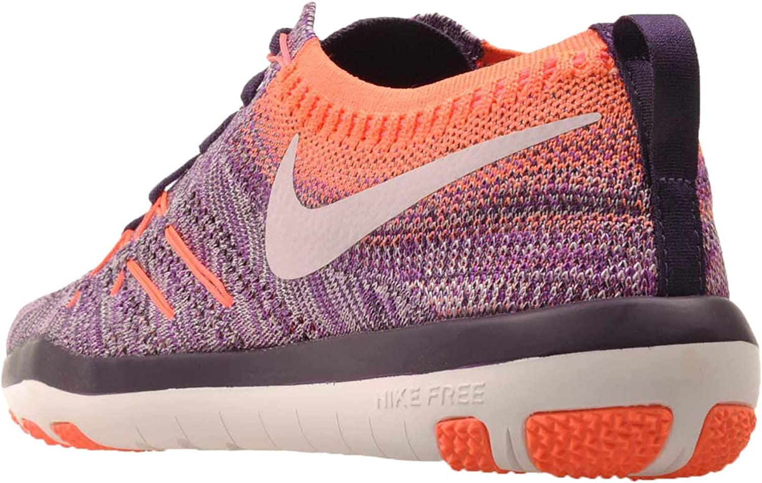 Nike Wmns Free TR Focus Flyknit, Hyper Volt/Bleached Lilac ...
