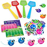 SpringFlower Sight Word Game, Swat a Sight Word Educational Toy for Age of 3,4,5,6 Year Old Kids, Boys & Girls,Homeschool ,Vi