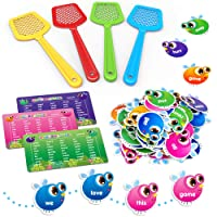 SpringFlower Sight Word Game, Swat a Sight Word Educational Toy for Age of 3,4,5,6...