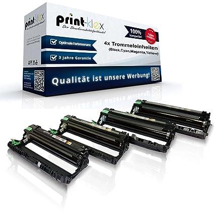 Juego de 4 unidades de tambor compatibles con Brother HL3140 CW HL3142 CW HL3150 CDN HL3150 CDW HL3152 CDW HL3170 CDW HL3172 CDW DR-241 CL DR241, ...