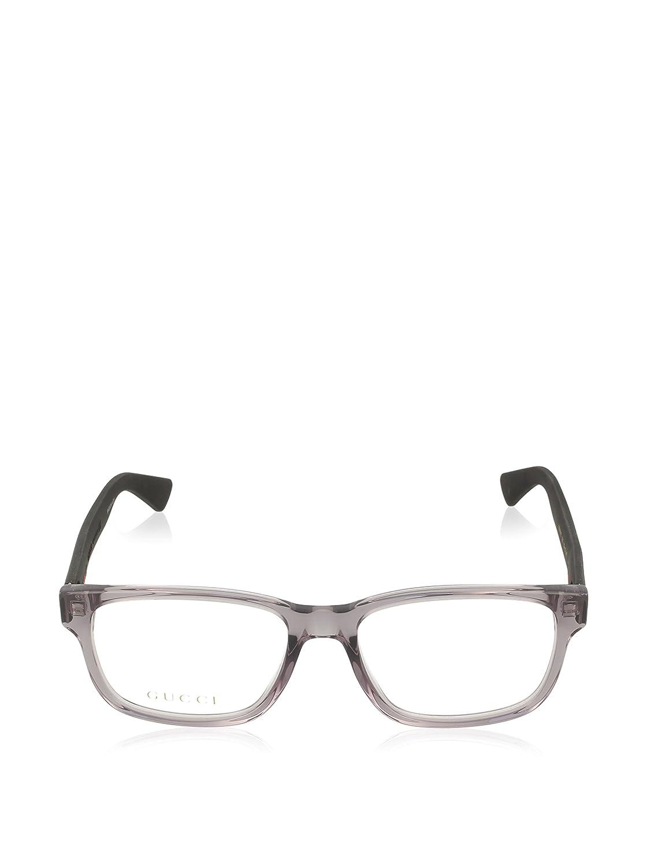 e85a985d00e Amazon.com  Gucci GG 0011O Square Eyeglasses 2 Sizes  Clothing