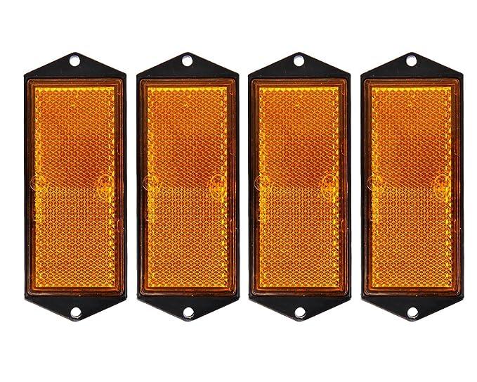 4x Reflektor wei/ß 104x40mm zum Anschrauben von The Drive