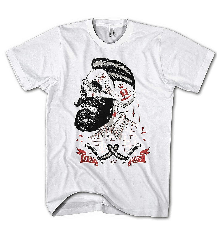 Monkey Print Camiseta Hombre Punk Rockebilly Tatuaje Hipster ...