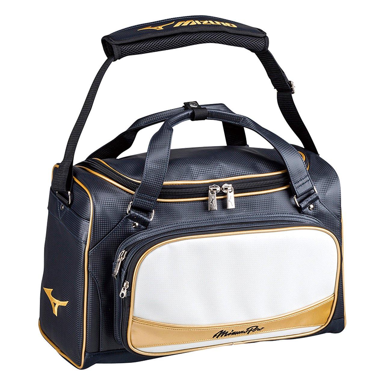 ミズノ(MIZUNO) ミズノプロ セカンドバッグ 1FJD6001 B018WYLLEY ネイビー×ホワイト(74) ネイビー×ホワイト(74)