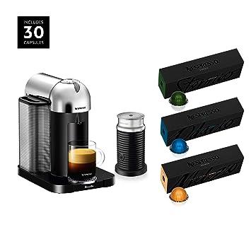 Amazon.com: Cafetera Nespresso Vertuo de Breville con ...