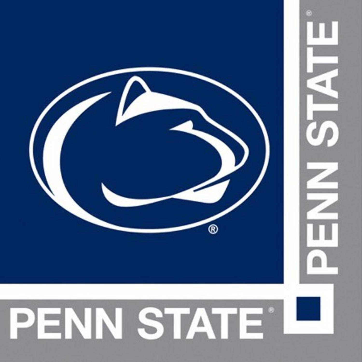 240 NCAA Penn State Nittany Lions 2-ply Tailgating Party Beverage Napkins B00E4UGH1S
