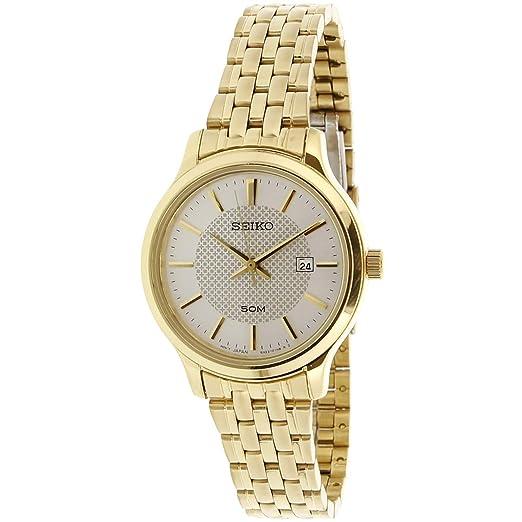 Amazon.com: Seiko Neo Classic SUR646P1 - Reloj analógico de ...