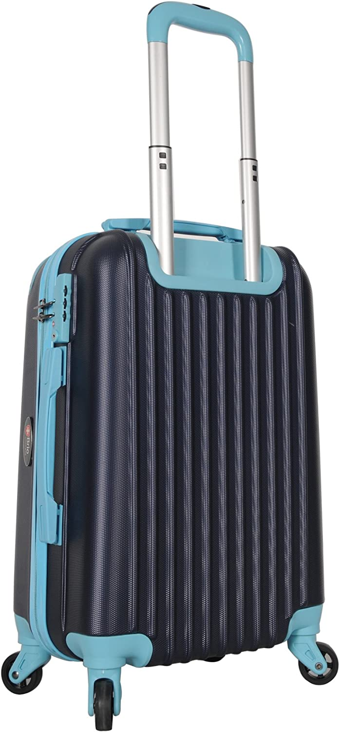 Brio Luggage Hardside Travel Spinner Carry-On #808