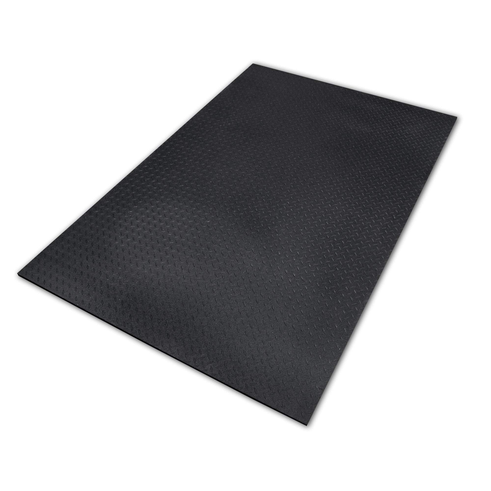 Equine Stall Mat, Bed Mat, Barn Flooring, Kennel Floors - Heavy Duty Rubber Mat 4' x 6' x 1/2'' by Equine