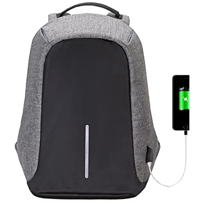 Anti-theft Travel Laptop Backpack – (2017 Humanized Design) Marggle Lightweight and Durable Backpack with USB Charging Port for Business and Travel Outdoor, Best Gift for College Student