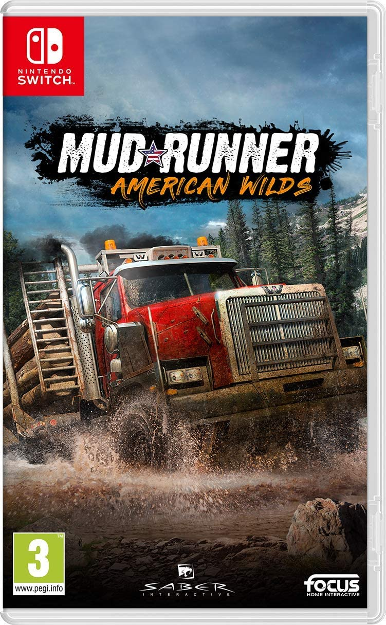 Spintires: MudRunner - American Wilds Edition - Nintendo Switch ...