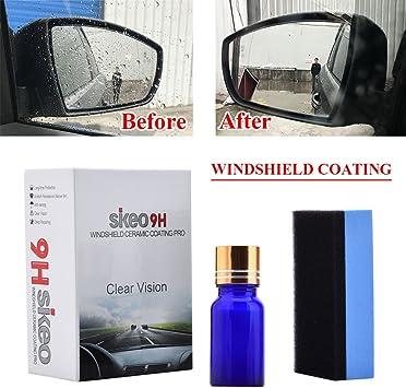 Window Mirror Hydrophobic Coating Car Windshield Glass Rearview Mirror Coating