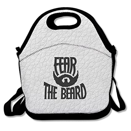 9a8d7d12f575 Fear The Beard Logo Polyester Lunch Bag  Amazon.ca  Home   Kitchen