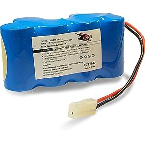 ZZcell Battery for Euro Pro Shark Vacuum Carpet and Carpet Sweeper XB1918, VX3, V1917, V1950 2000mAh