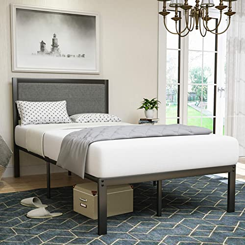 LAGRIMA Metal Twin Bed Frame