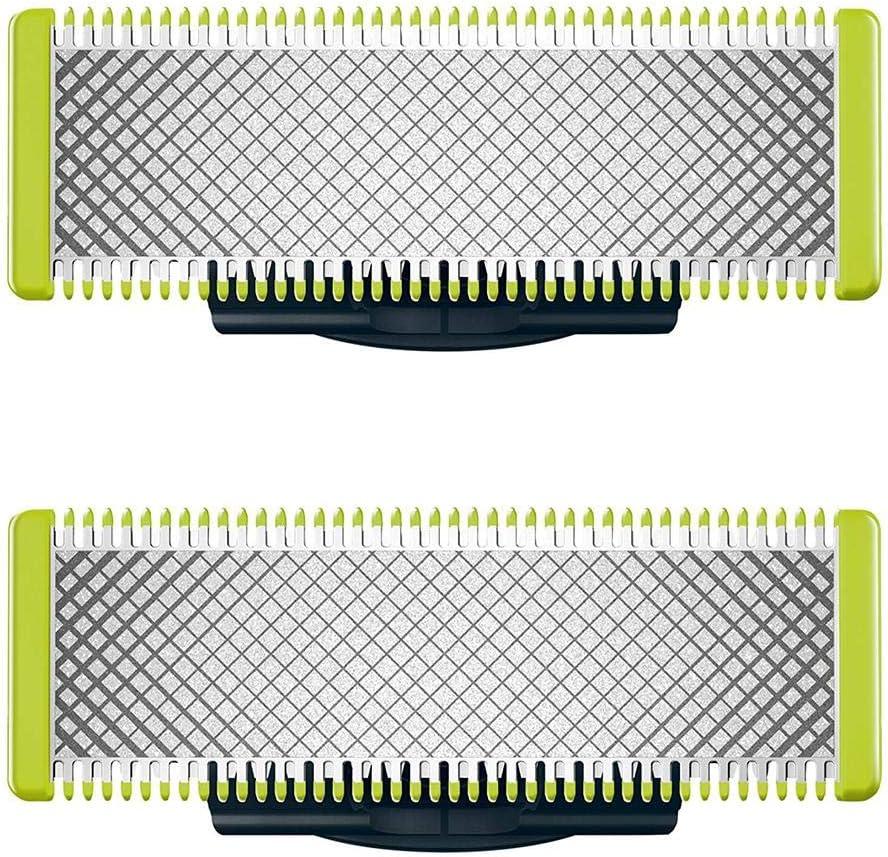 Ingeniously para Philips Norelco OneBlade Electric Shaver 1 Paquete de Cuchillas de Repuesto para QP210 / 80 QP220 QP230 QP2520 QP2630 QP6520