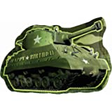 "Amscan Ballon aluminium anniversaire ""Happy Birthday"" Tank Armée Camouflage - 66cm"